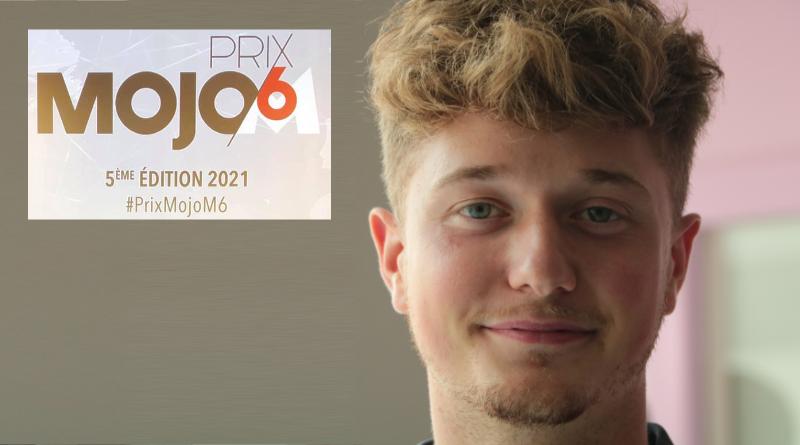 Alexandre Keirle, lauréat du Prix Mojo M6